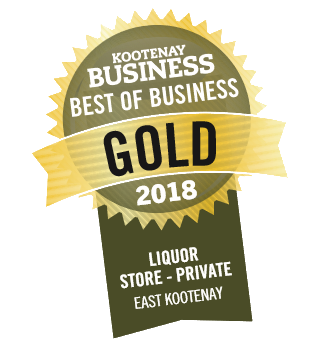 Kootenay Business Best of Business Gold 2018 - Liquor Store - Private