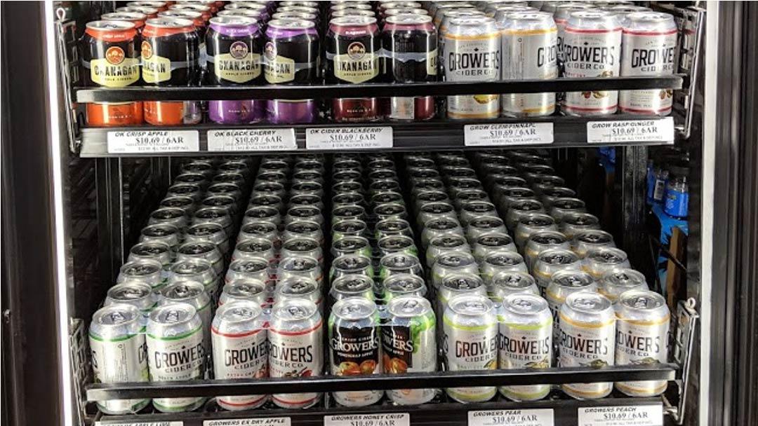 Cranbrook Beer Store Ciders