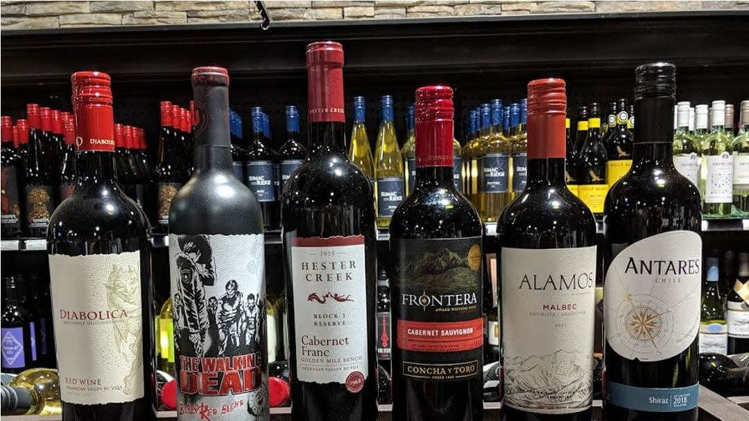 Cranbrook Red Wine Store