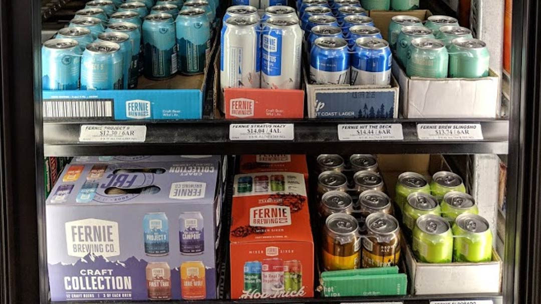 Local BC Beer Store in Cranbrook